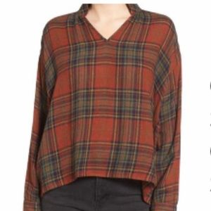 Madewell Highroad Plaid Popover Shirt